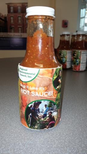 Drop It Like It's Hot: Worcester Youth Cook Up a Spicy Sauce from Organic UrbanGardens