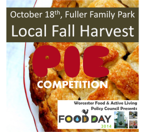 Food Day Local Harvest Pie Competition!