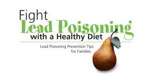 Healthy Eating Can Reduce Impact of Lead